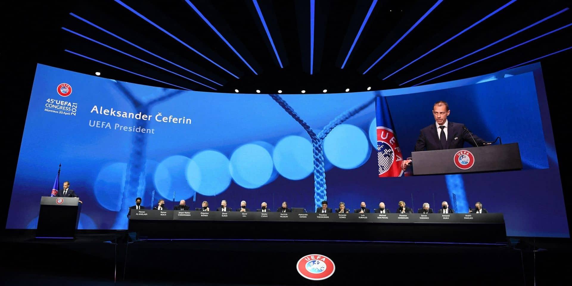 Super League : un vice-président de l'UEFA confirme que les clubs fondateurs risquent des conséquences