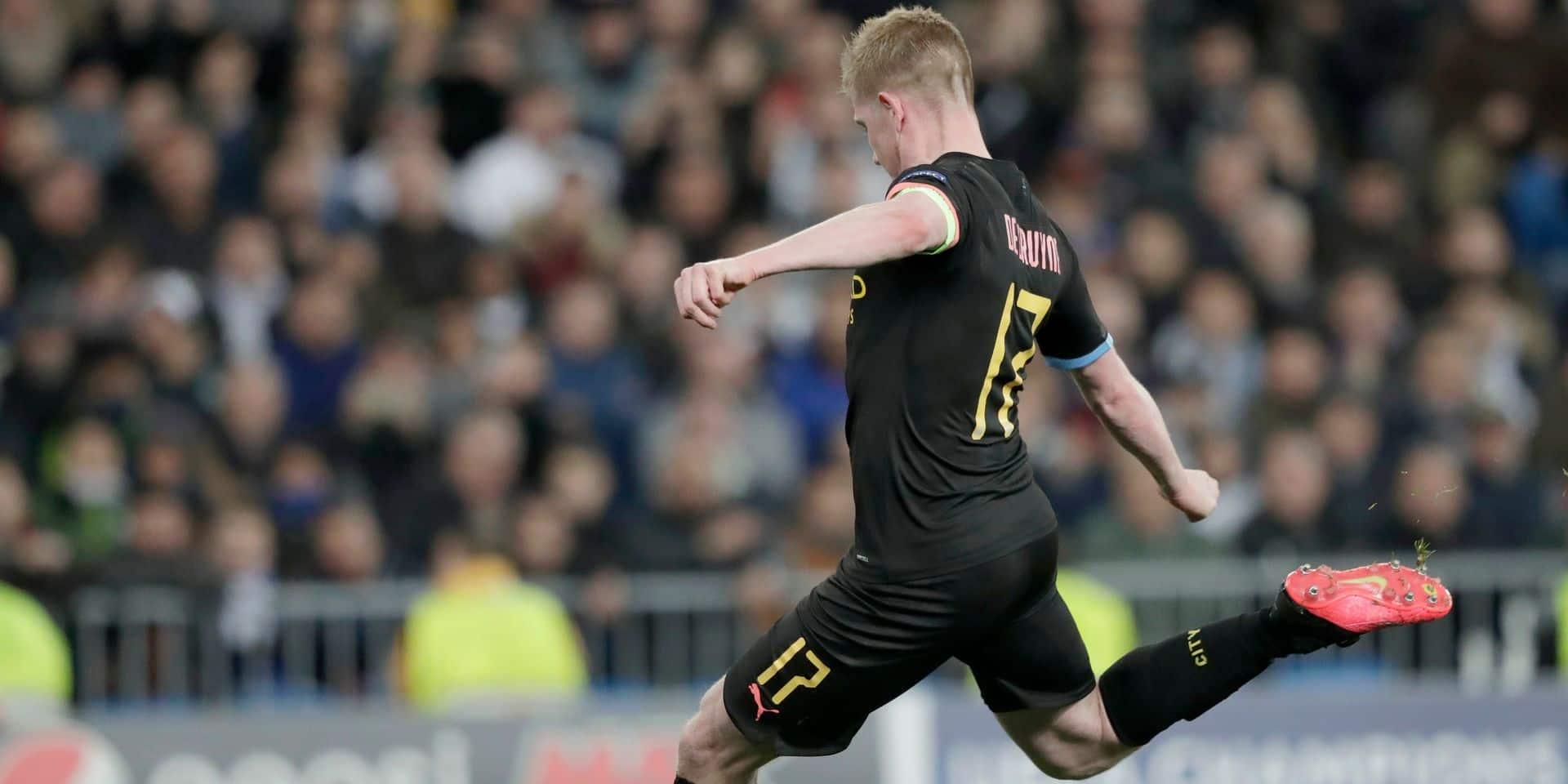 Le but et l'assist de De Bruyne qui offre la victoire à City face au Real Madrid (VIDEO)