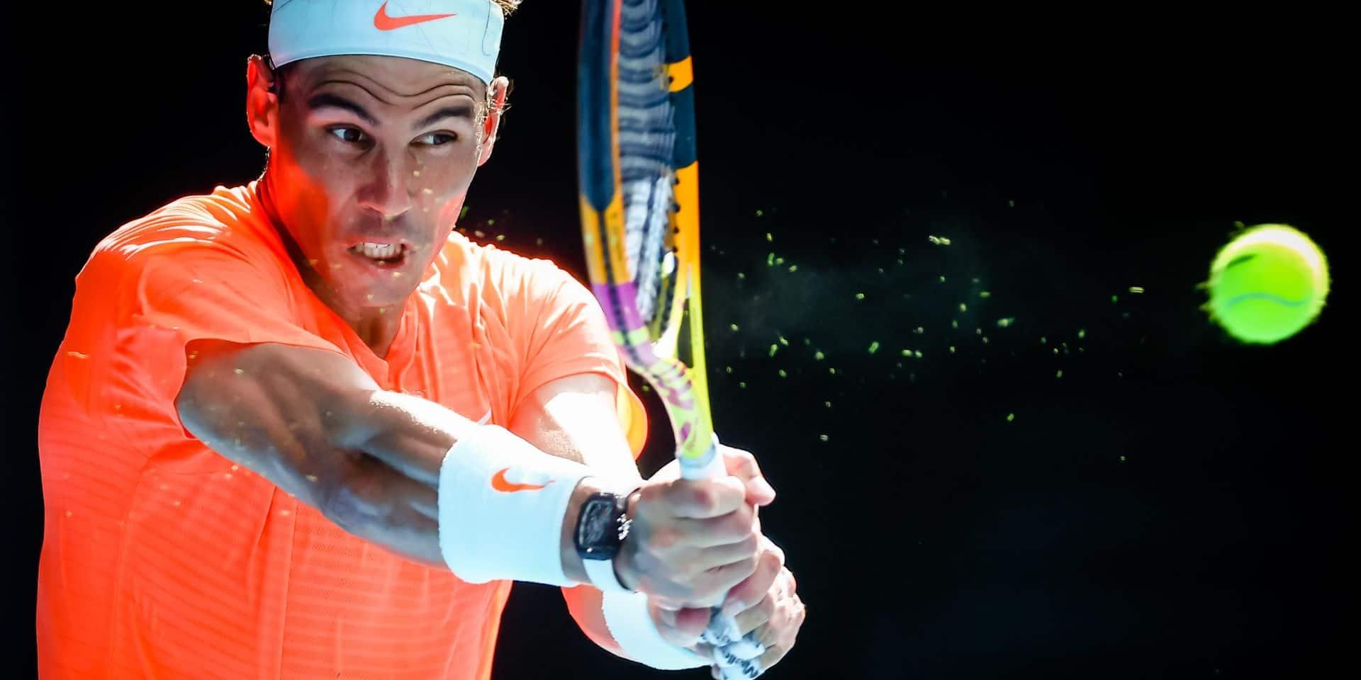 """Rafael Nadal confiant pour son retour sur terre battue: """"Si je me sens bien physiquement, j'ai des chances de jouer à un haut niveau"""""""