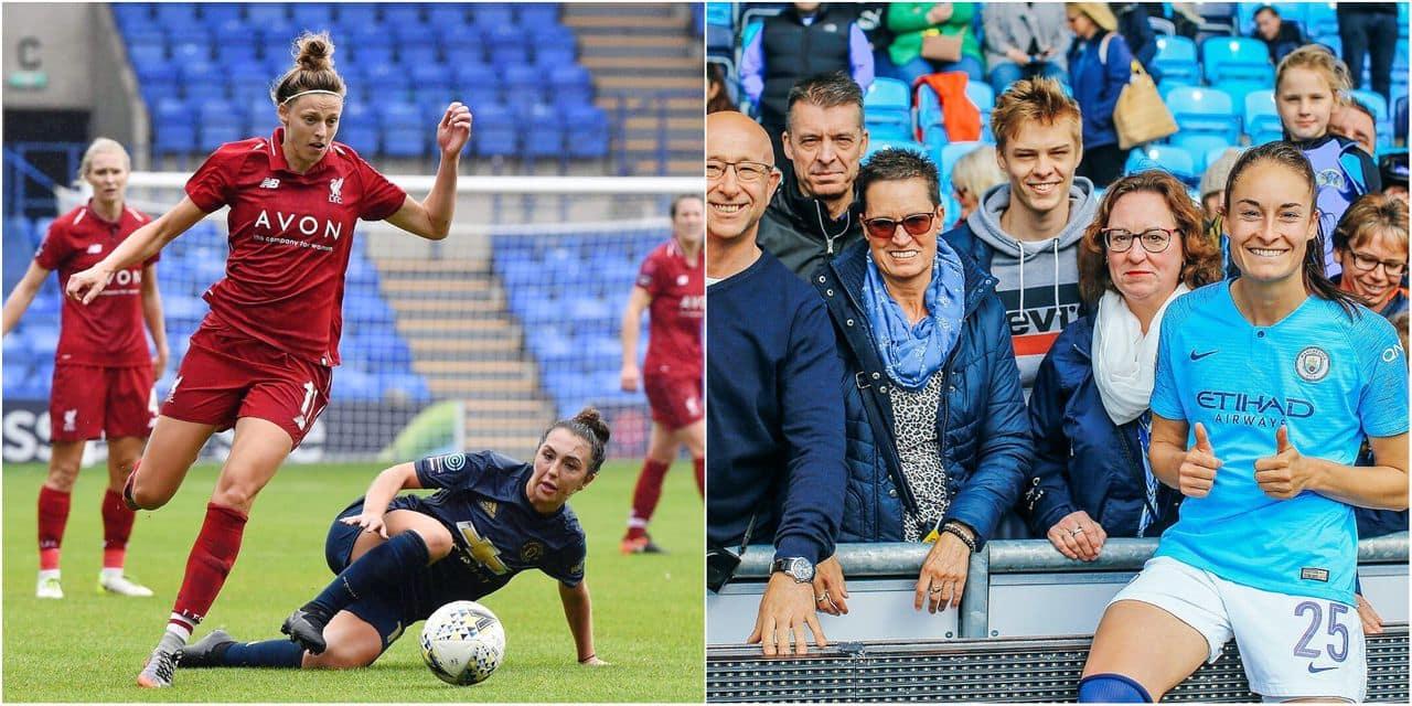 """""""Que le meilleur gagne !"""": nos Red Flames Tessa Wullaert (Man City) et Yana Daniëls (Liverpool) évoquent la lutte pour le titre"""