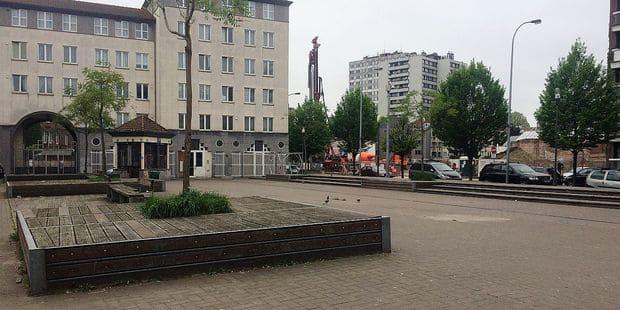 Molenbeek : la place du Cheval Noir sera rénovée - La DH
