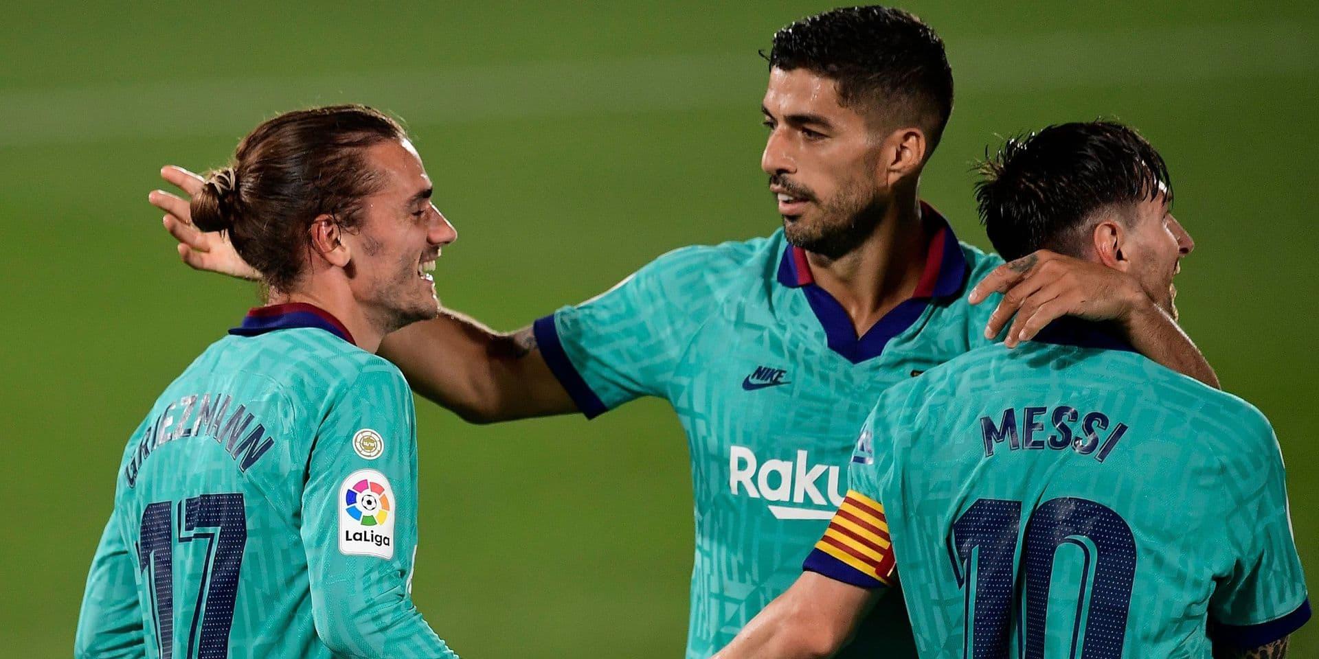 """Luis Suarez l'assure: """"Griezmann est très apprécié et aimé dans le vestiaire de Barcelone"""""""
