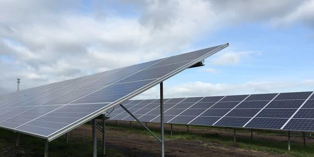 3.680 panneaux photovoltaïques installés? sur le site d'Amercoeur - La DH