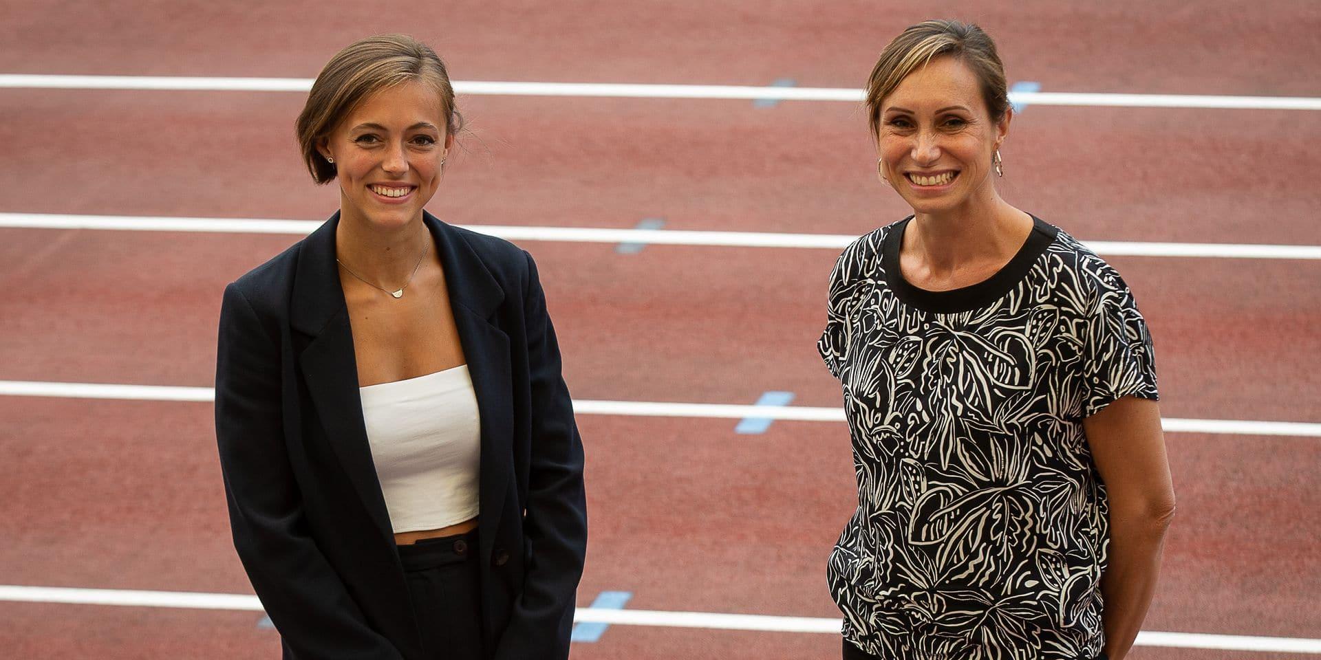 """Kim Gevaert rencontre Rani Rosius: """"Mon conseil ? Qu'elle continue à prendre du plaisir et à travailler dur"""""""