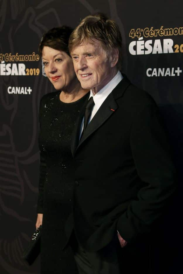 Robert Redford et sa compagne