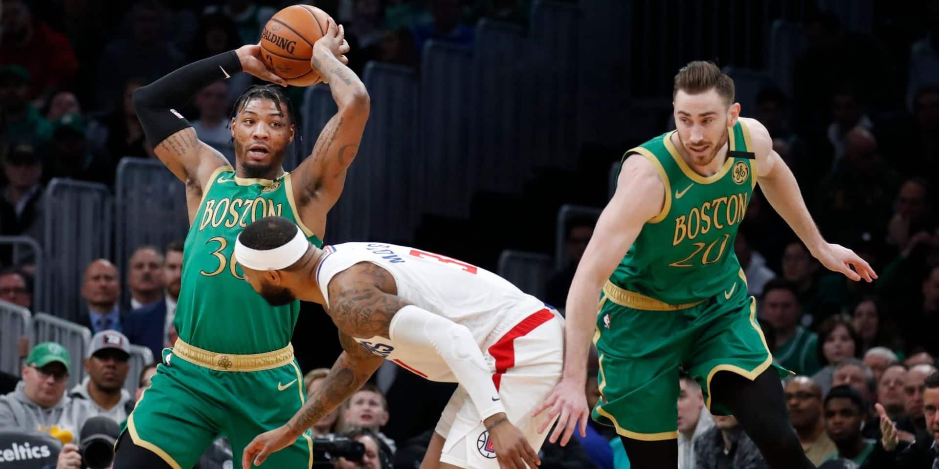 NBA: Boston vient à bout des Clippers après deux prolongations