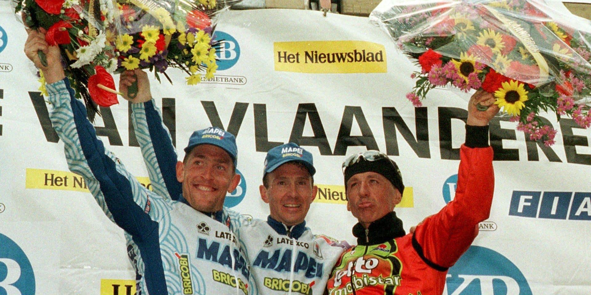"""Les classiques dans le rétro, le 3e Ronde de Johan Museeuw: """"Au sommet de ma carrière"""""""