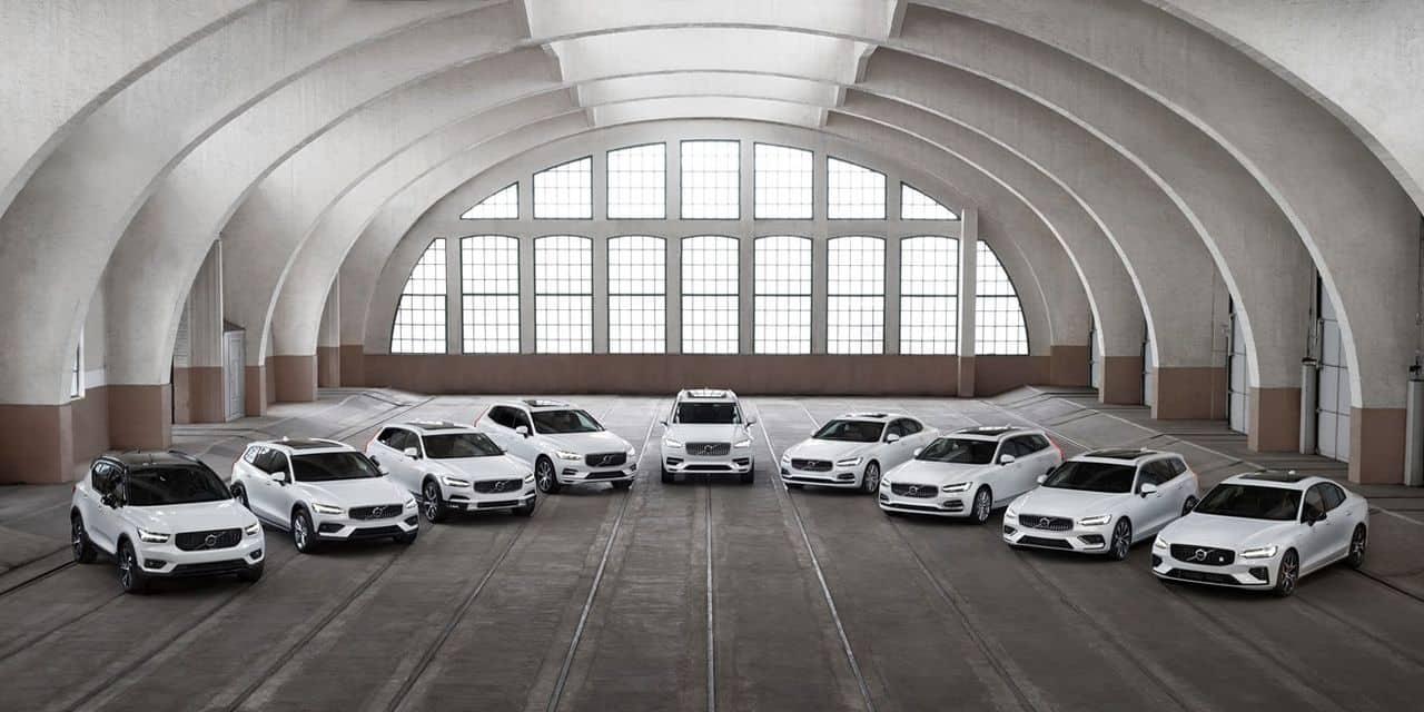 Voici la vitesse max pour toutes les nouvelles voitures Volvo