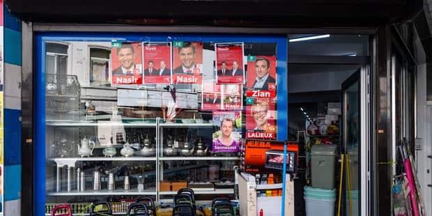 Bruxelles-Ville : Mohammad Nasir (PS) se fiche du règlement sur l'affichage électoral - La DH