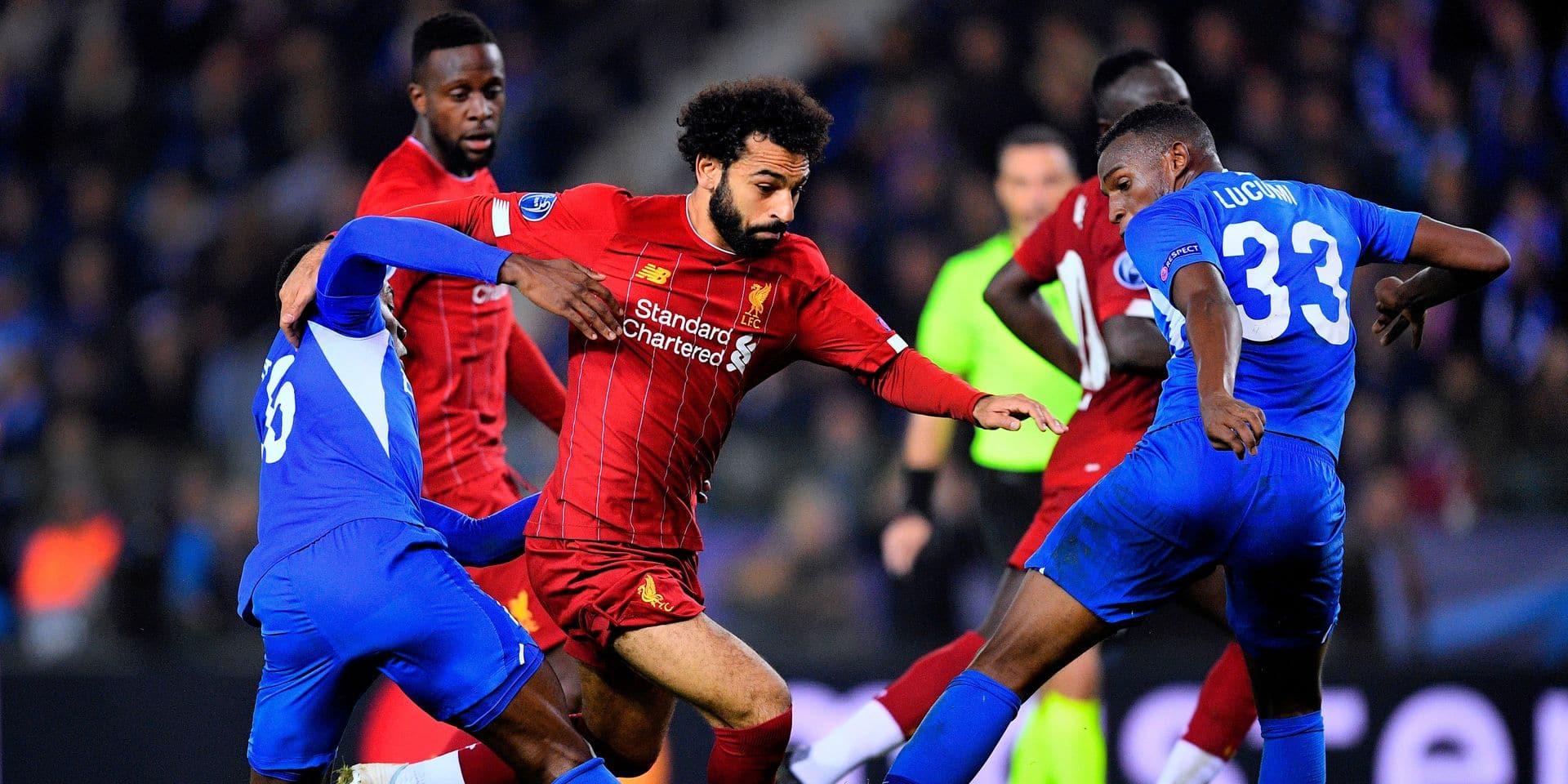 """Felice Mazzù en position délicate avant le déplacement à Liverpool: """"Une pression supplémentaire ? Non, j'essaie de rester calme"""""""