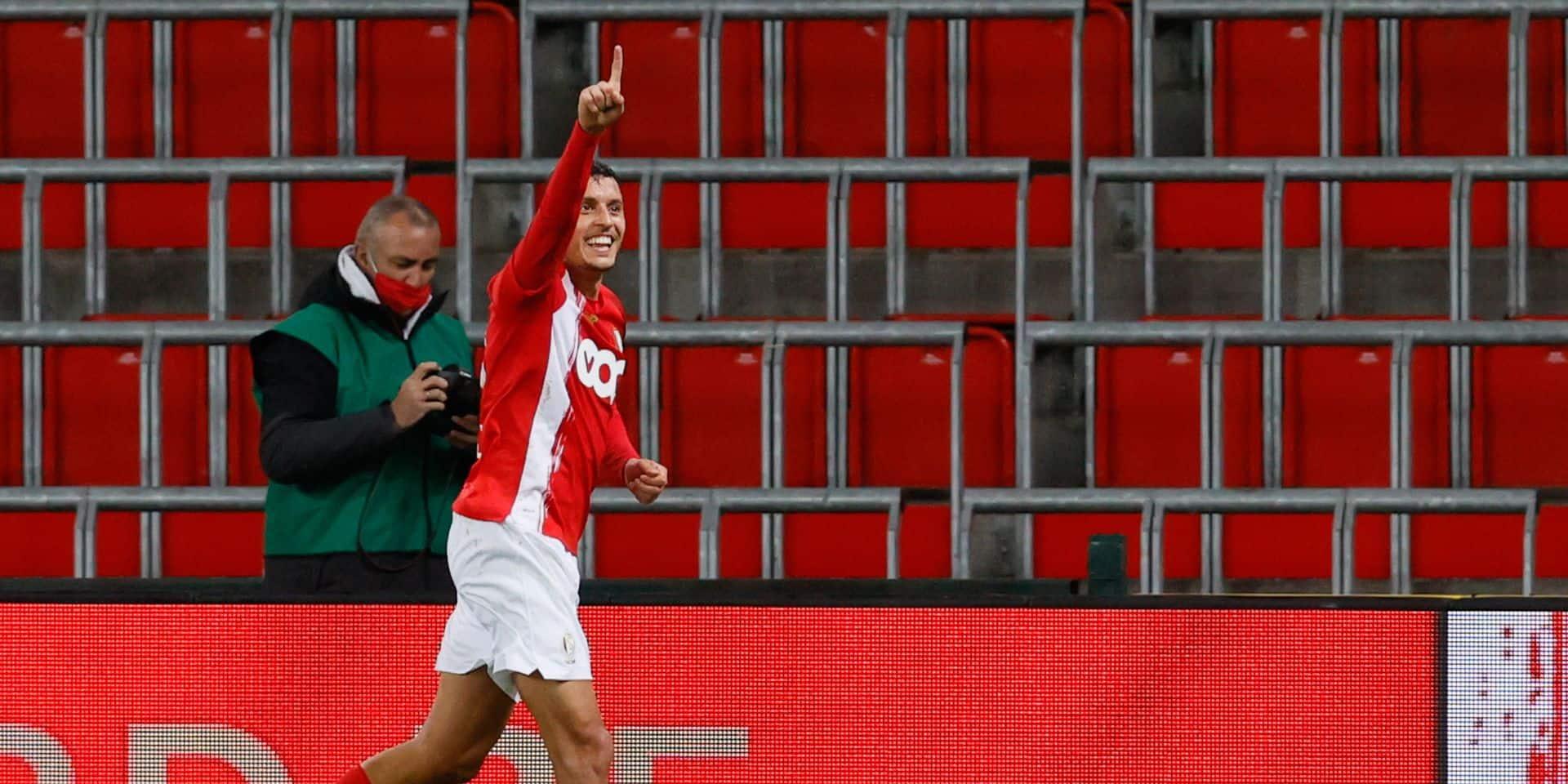 Selim Amallah a marqué son premier but pour le Maroc