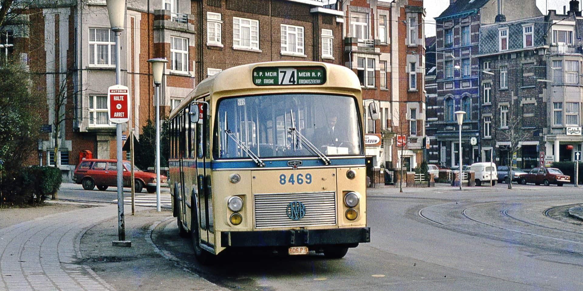 Les vieux autobus de la Stib seront de sortie le 8 mai