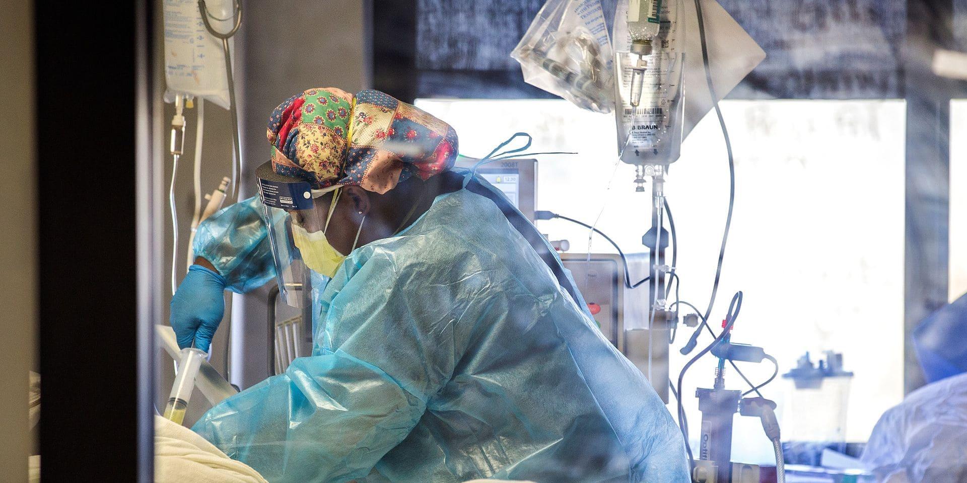 Coronavirus: le nombre d'admissions à l'hôpital en hausse de 14%