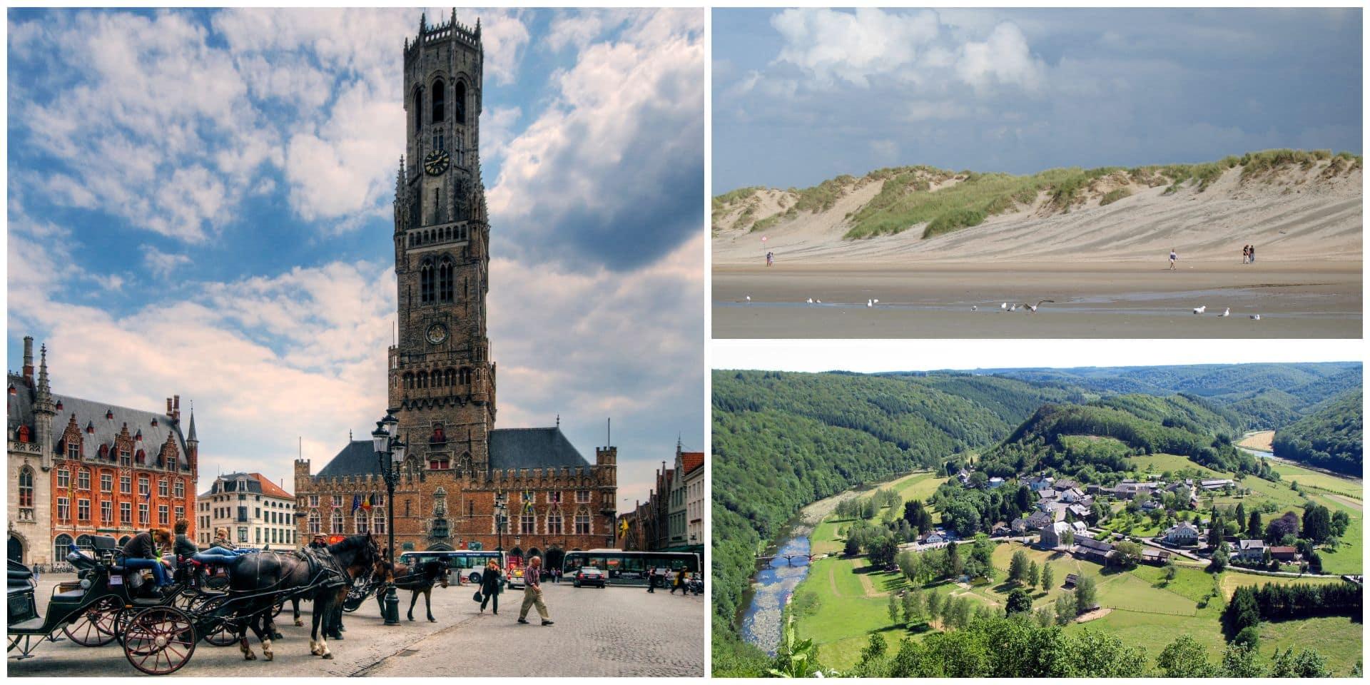 Où vont les touristes étrangers en Belgique ?