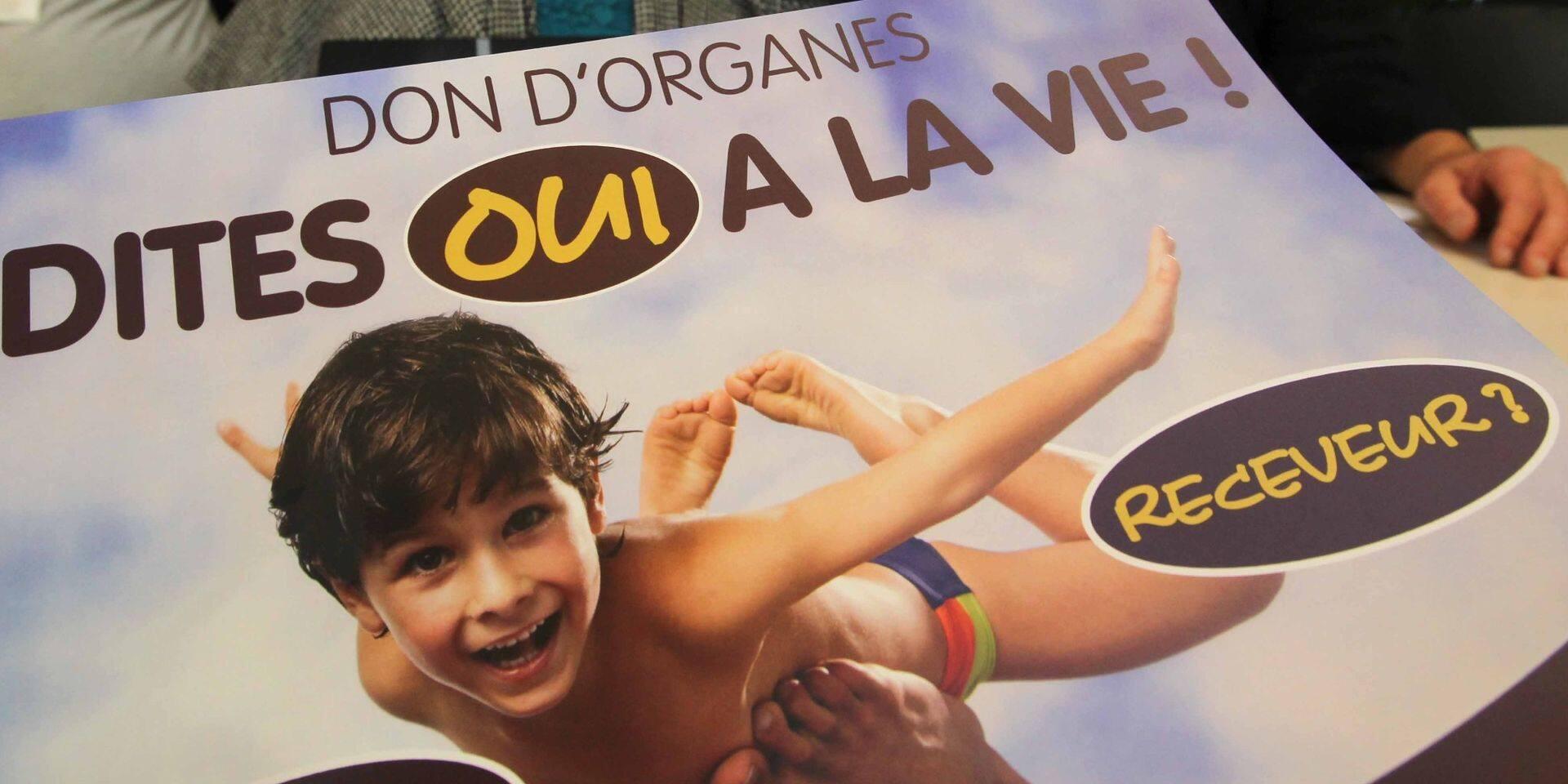 Plus de 380.000 Belges candidats au don d'organe, un record