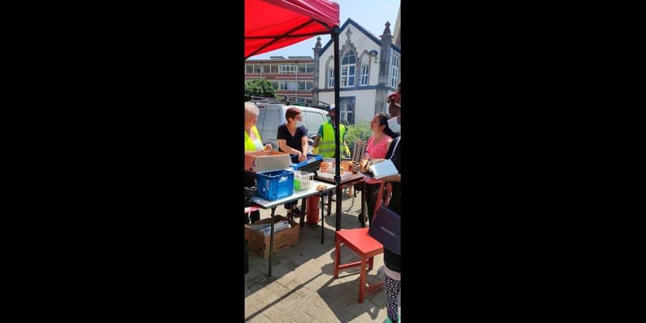 A Verviers, l'aide continue de s'organiser envers les sinistrés