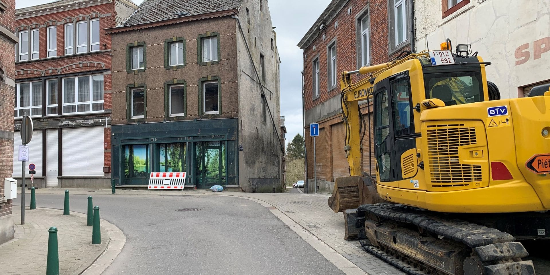 Îlot Mintens à Genappe: les démolitions commencent ce lundi
