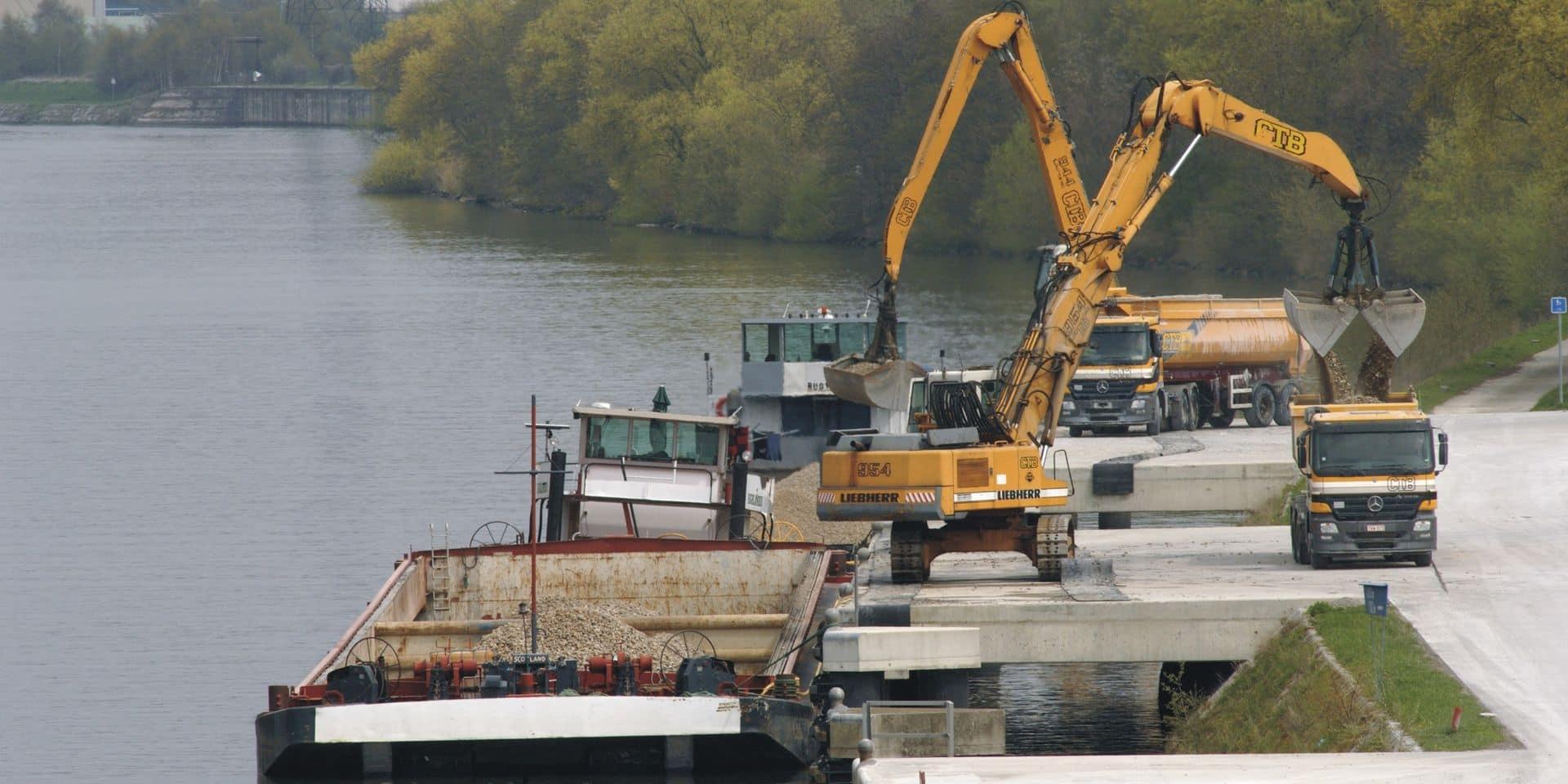 4 millions pour l'extension du port d'Hermalle-sous-Huy et la rénovation du pont métallique de jonction Meuse-Canal Albert