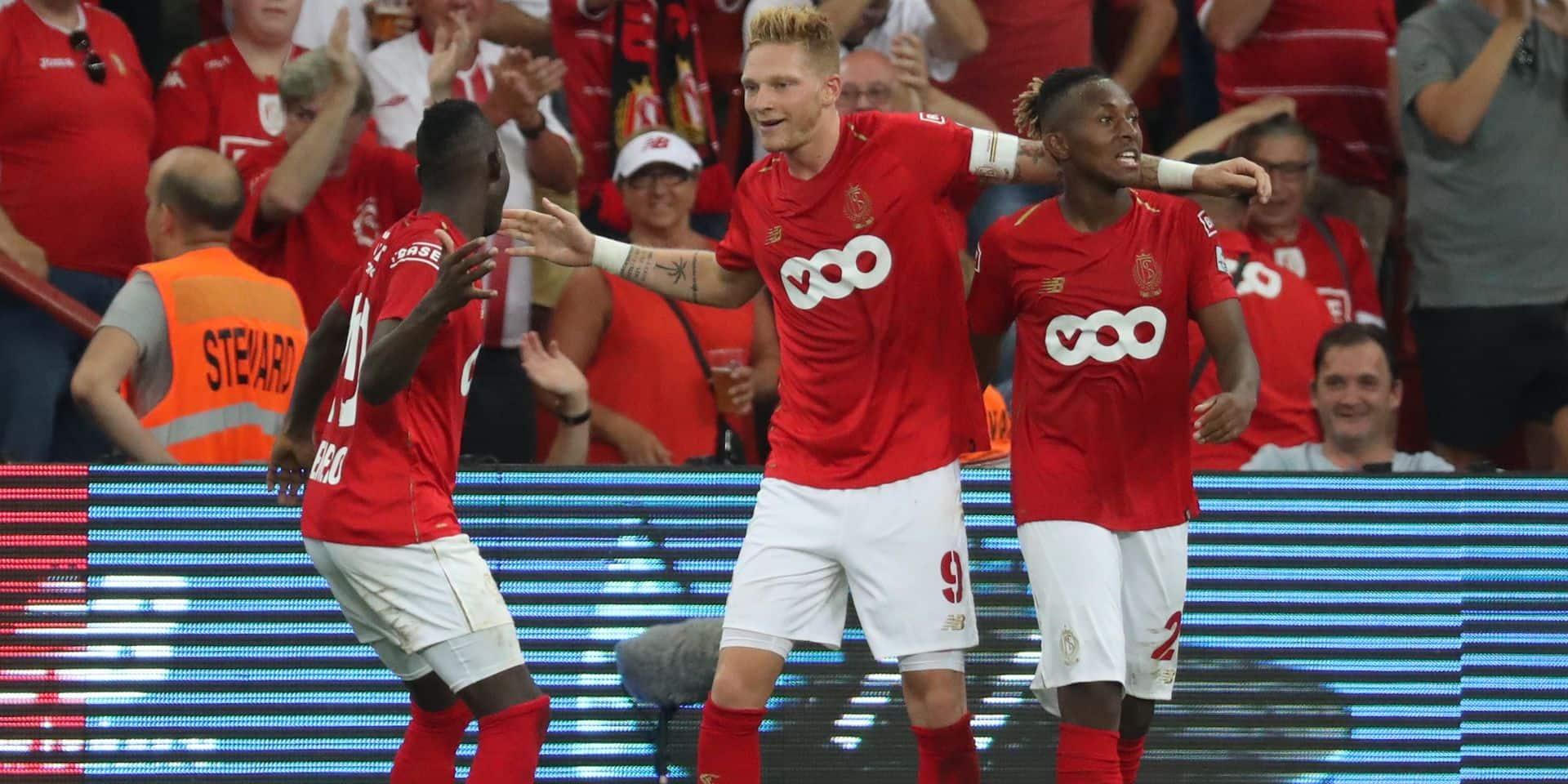 Convaincant, le Standard débute par une victoire face à La Gantoise (3-2)