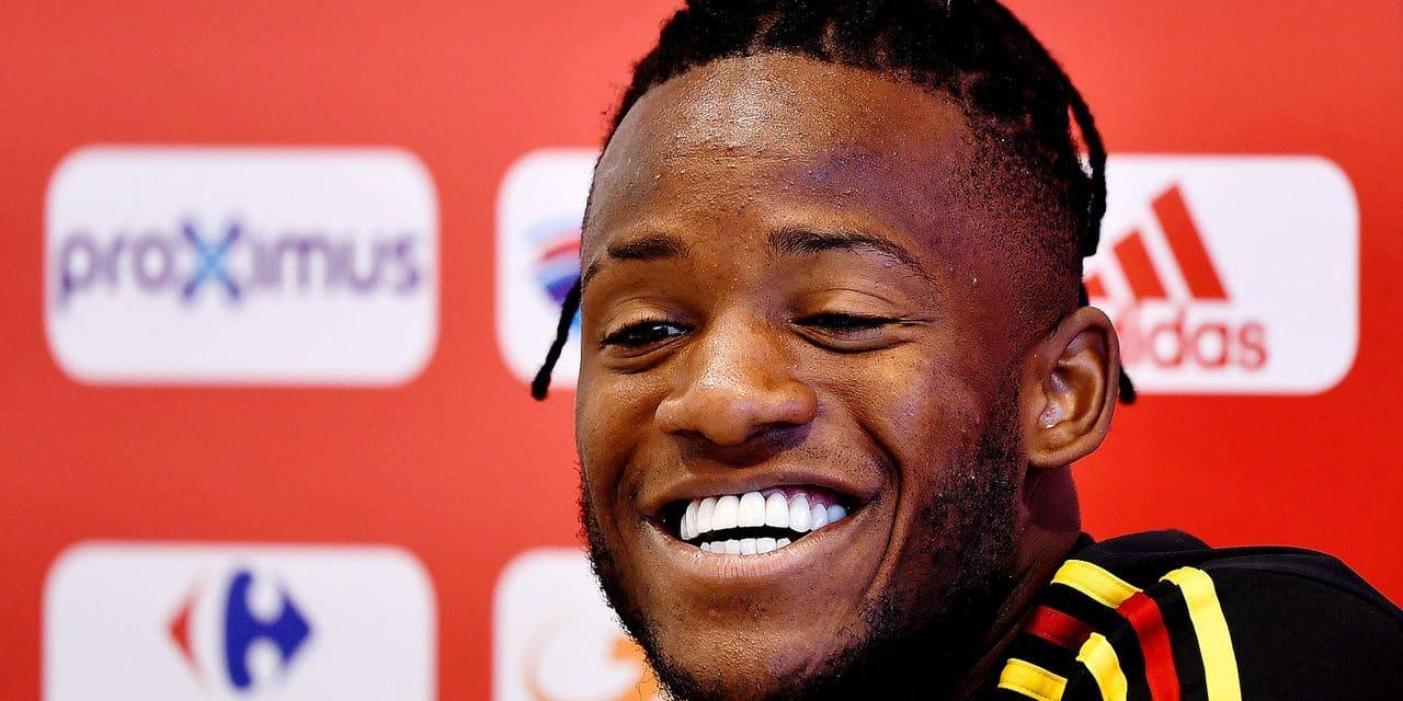 """Batshuayi n'est pas qu'un joker: """" J'ai montré à Dortmund que je pouvais trouver l'ouverture en étant titulaire"""""""