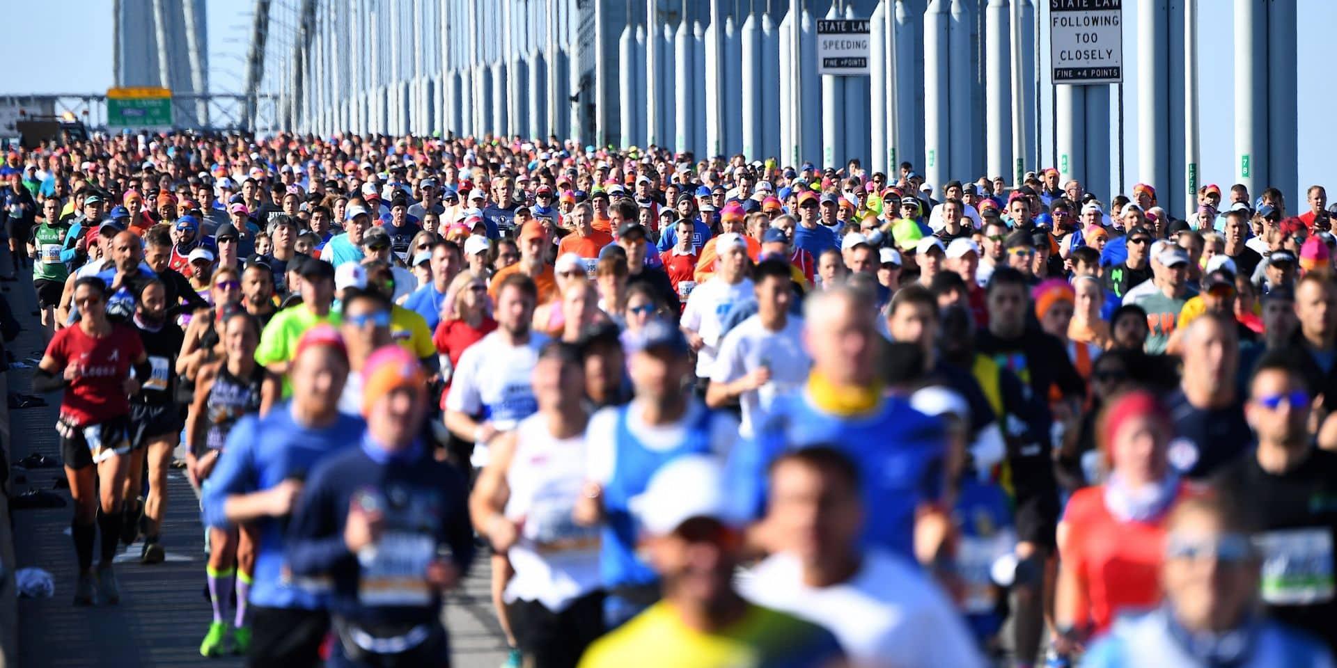 Le 50e marathon de New York devrait rassembler quelque 33.000 coureurs