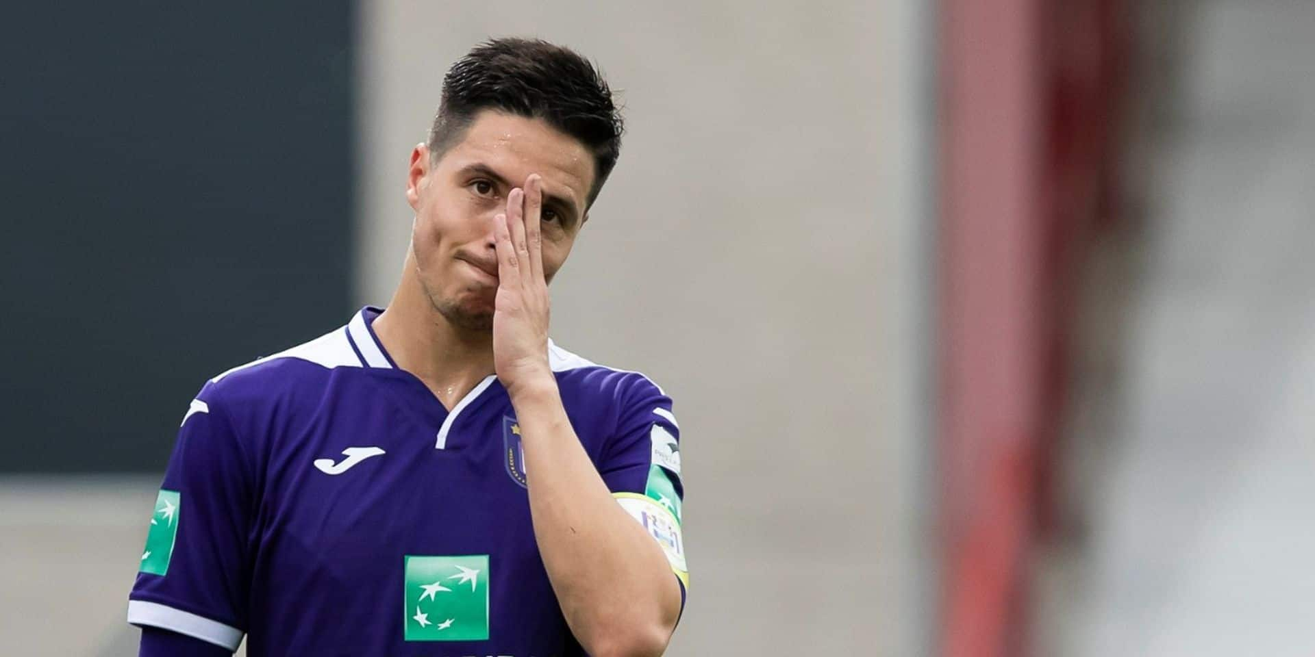 "La déception de Samir Nasri: ""Pas normal de faire 0-0 contre Waasland"""