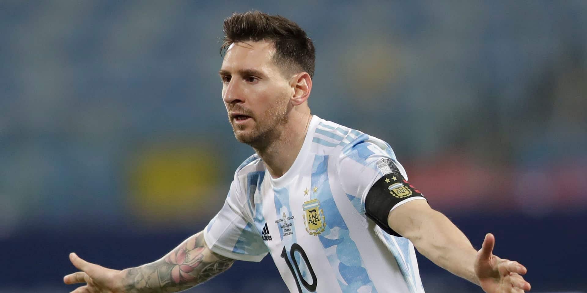 L'Argentine de Lionel Messi rejoint la Colombie en demi-finales de la Copa America