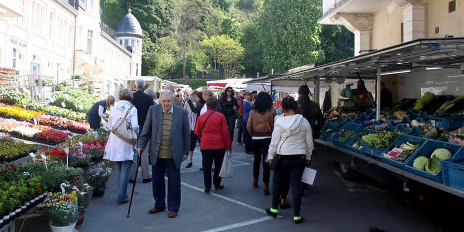 Le marché de Dinant déménage en bord de Meuse