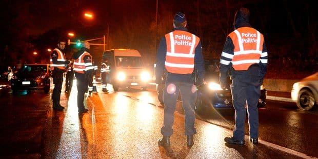 Bruxelles-Ville : 7 interdictions de conduire et 1 retrait de permis de 15 jours lors d'une action de police - La DH