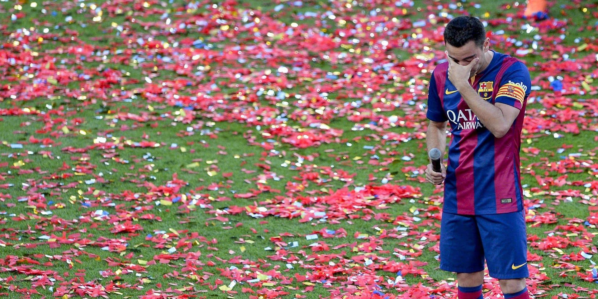 """Xavi veut """"revenir au Barça"""", mais avec son propre projet"""
