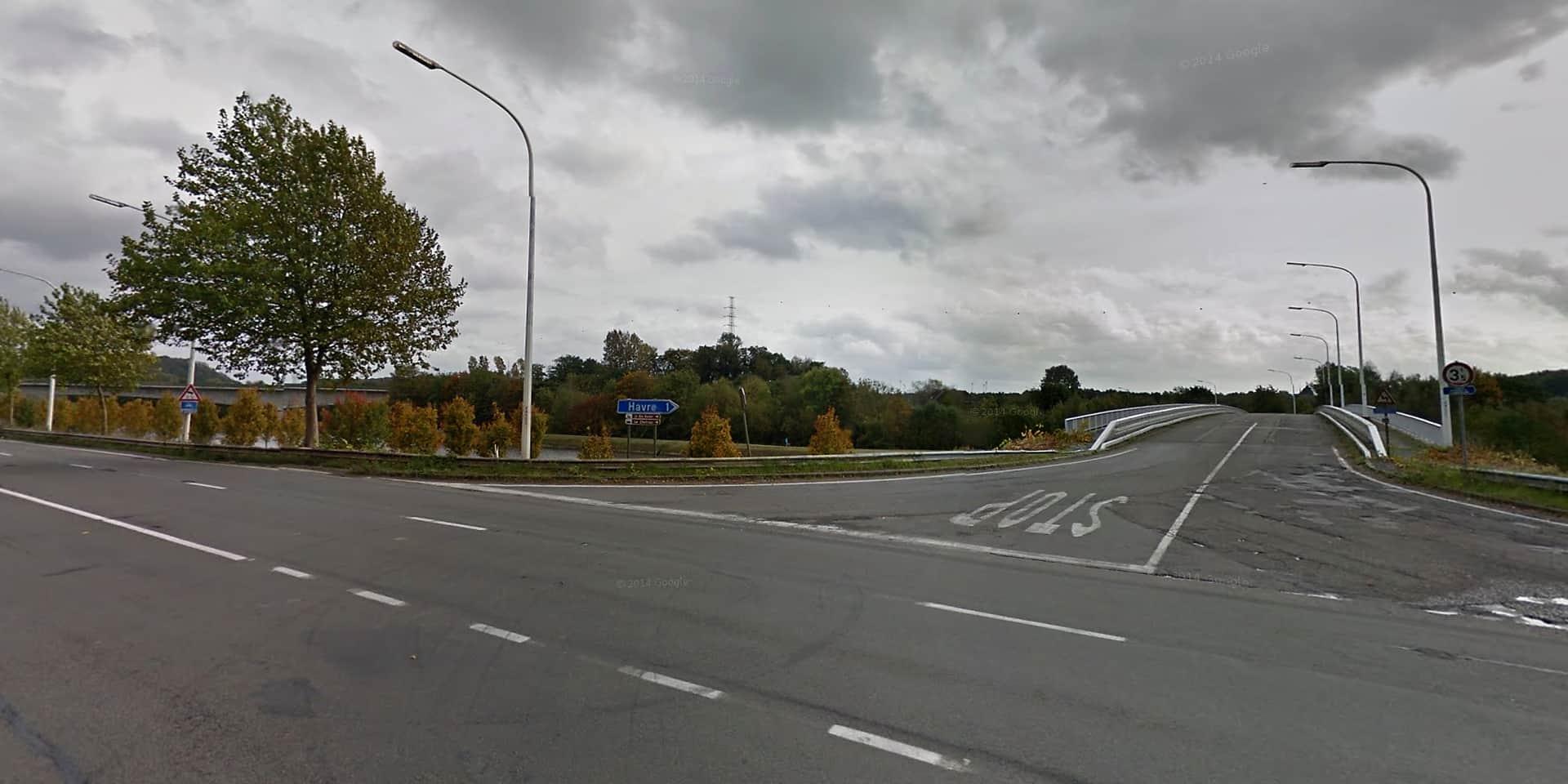 Havré : des aménagements pour sécuriser la route industrielle