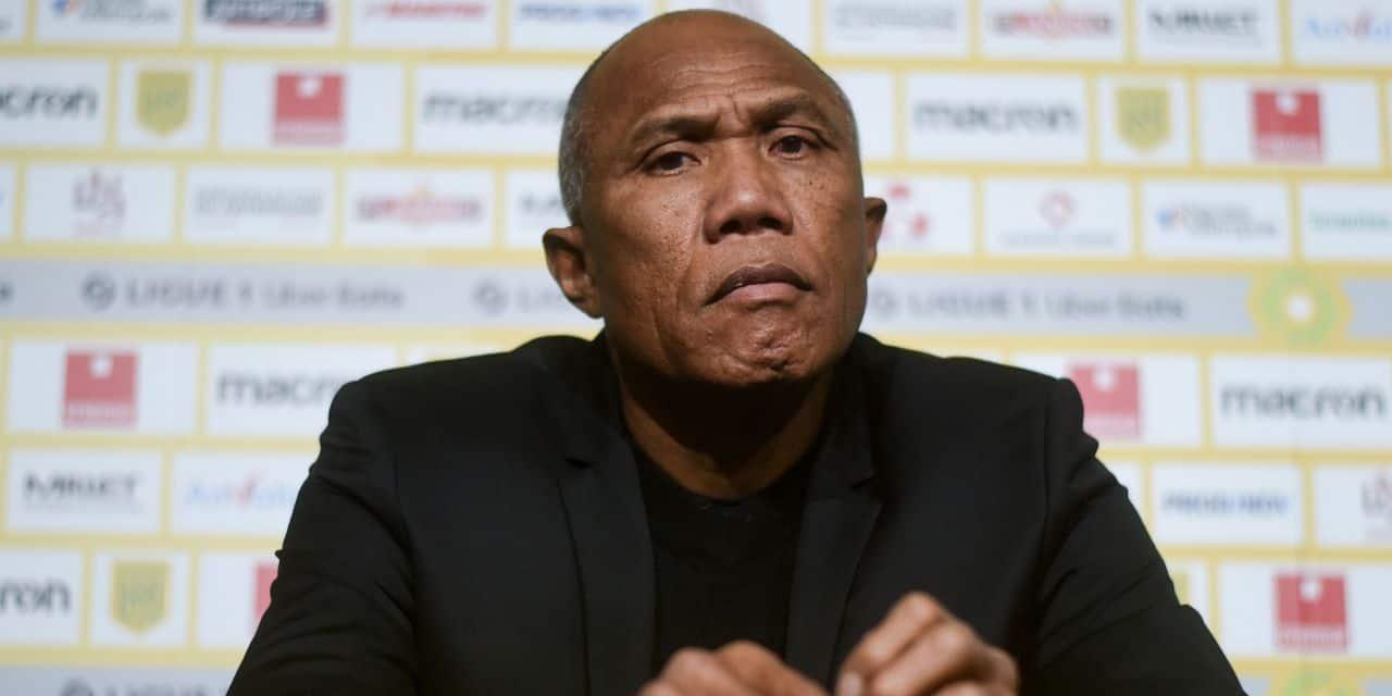 La conférence de presse totalement surréaliste d'Antoine Kombouaré, le nouvel entraîneur de Nantes :... - dh.be