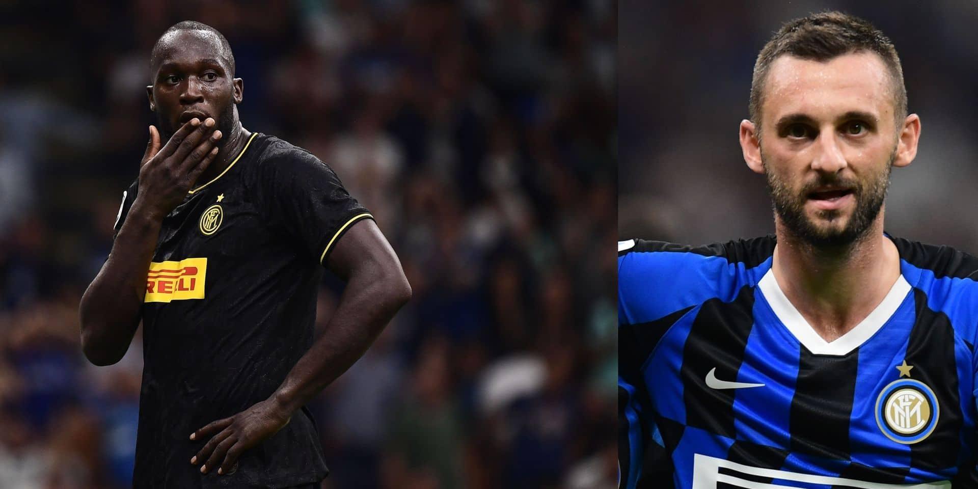 Clash Lukaku - Brozovic ? C'est tendu dans le vestiaire de l'Inter Milan