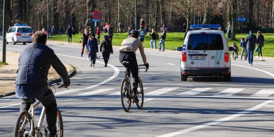 Les cyclistes déplorent le manque d'aménagement dans et autour du bois de la Cambre