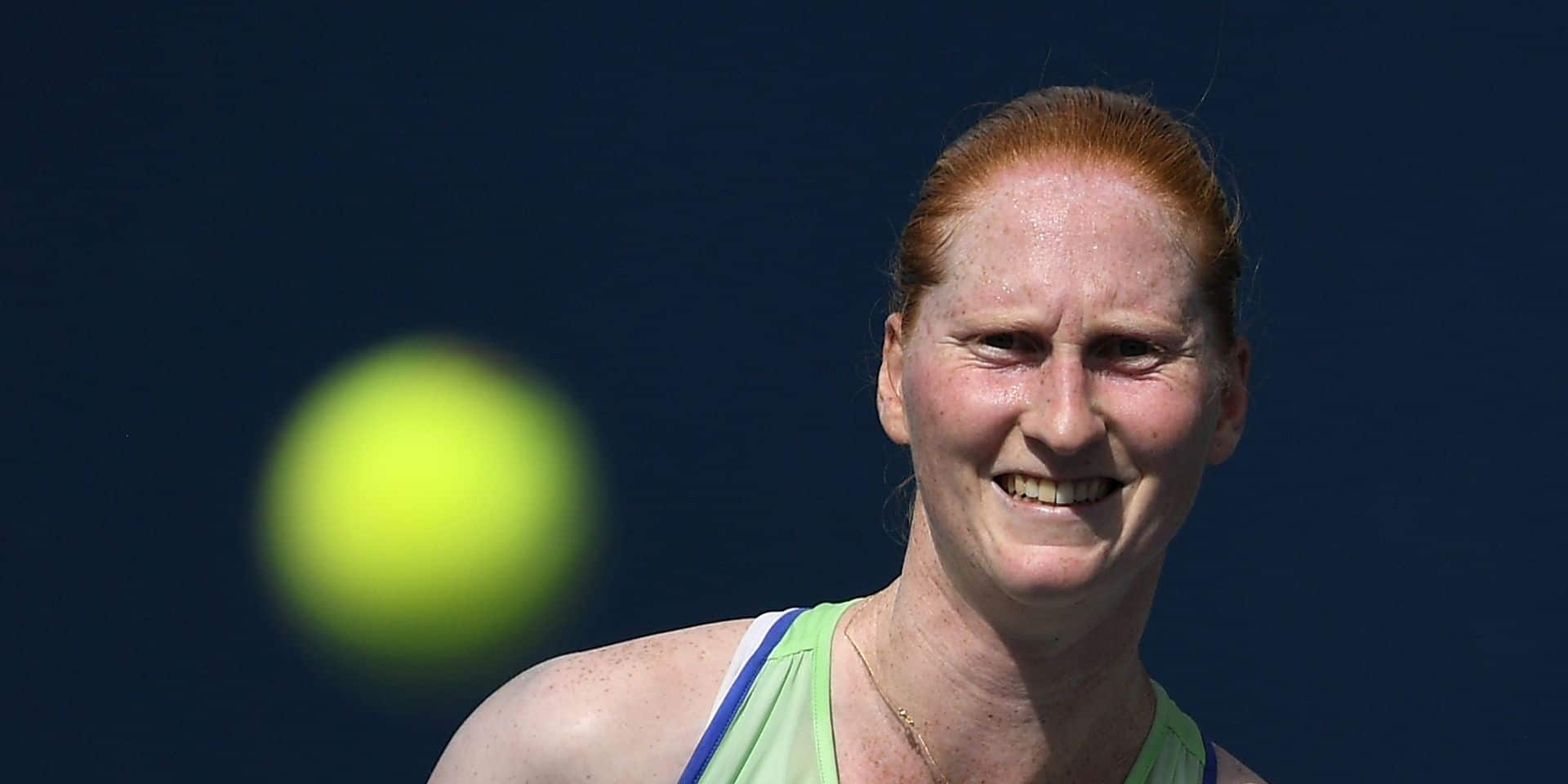 """Alison Van Uytvanck lucide sur la situation: """"La santé l'emporte sur la pratique du tennis et l'argent"""""""