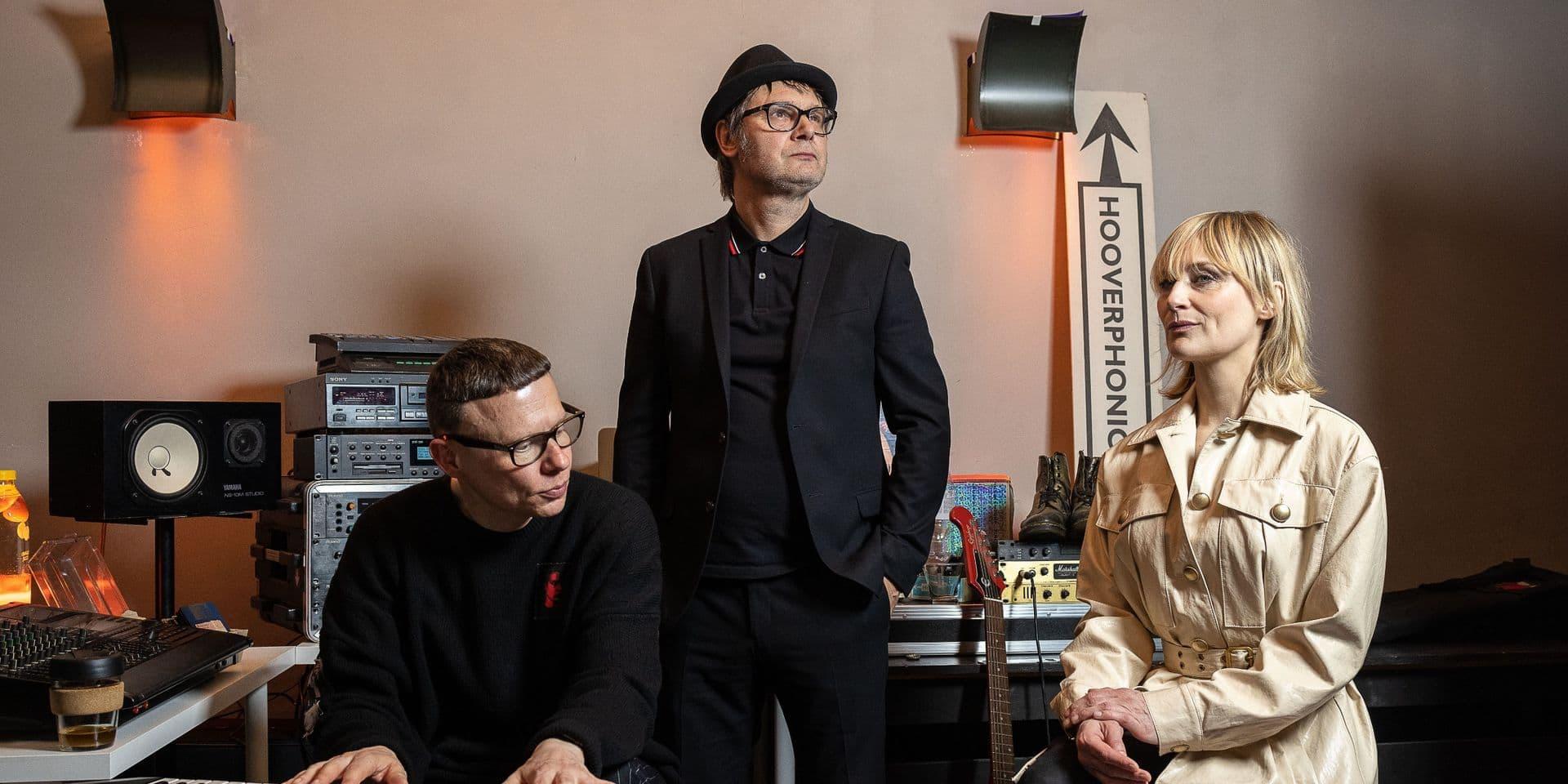 Hooverphonic diffuse un mini-concert à l'occasion de l'Eurovision