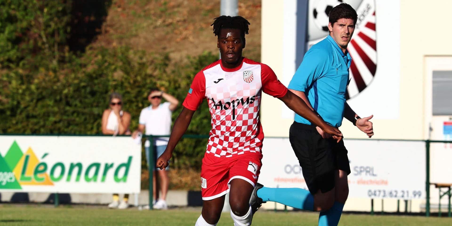 D2 ACFF: Le Walhinois Arnaud Mukota a signé à Rebecq
