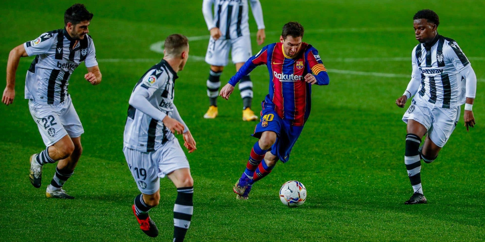 Messi, seul remède d'un Barça souffrant