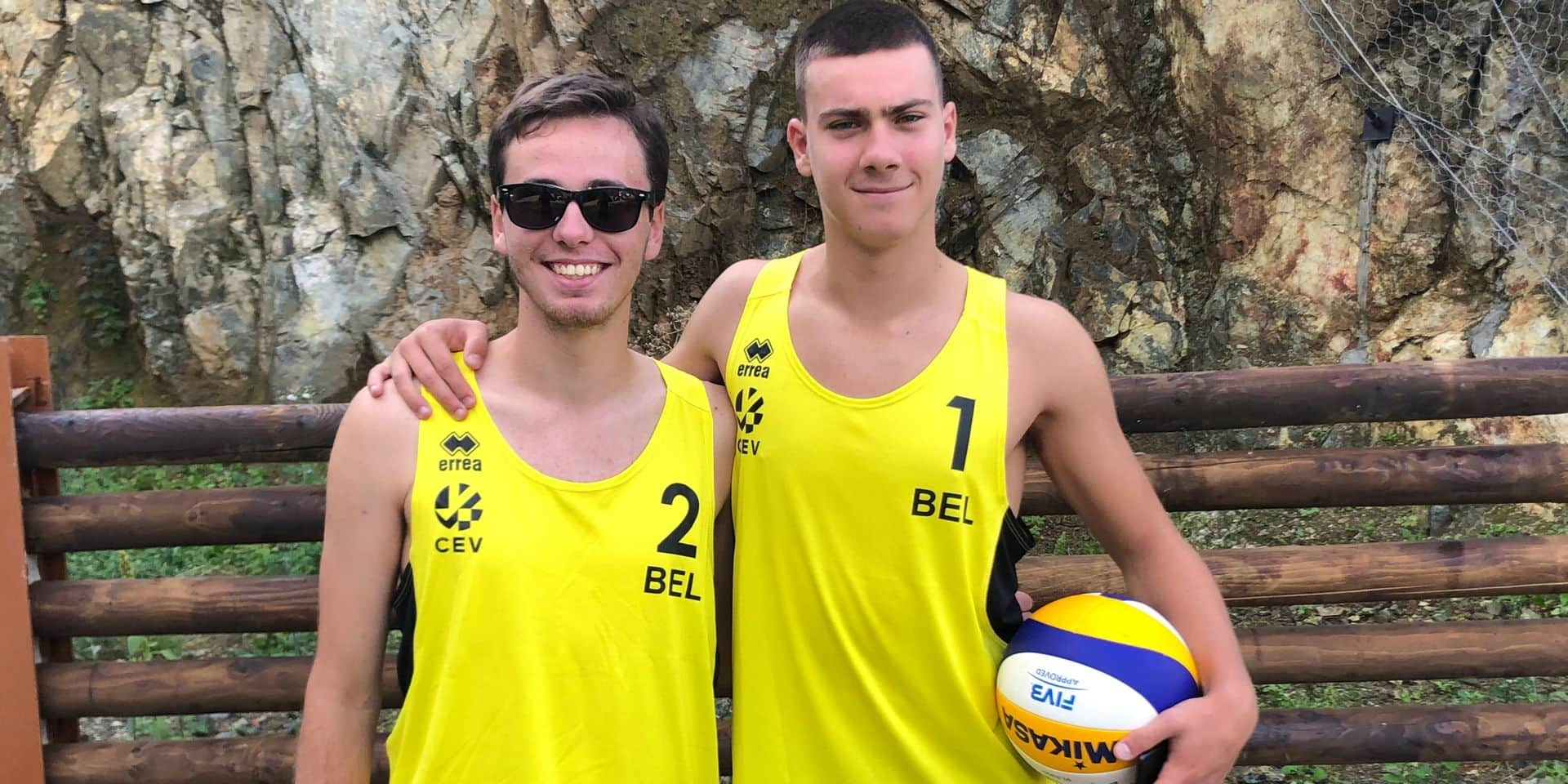 Beach Volley : Une première internationale réussie pour Louis Laenen et Thibault Goset
