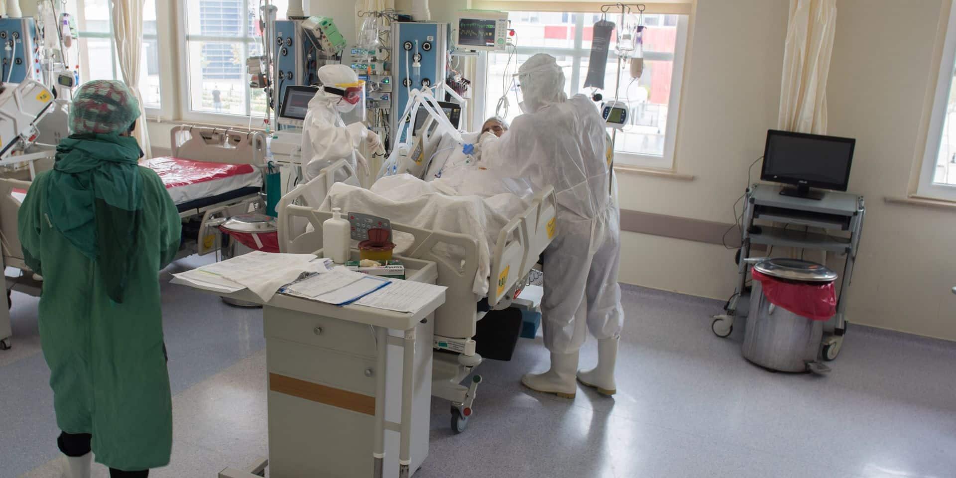 Coronavirus en Belgique: près de 60 admissions à l'hôpital et 9 décès au quotidien