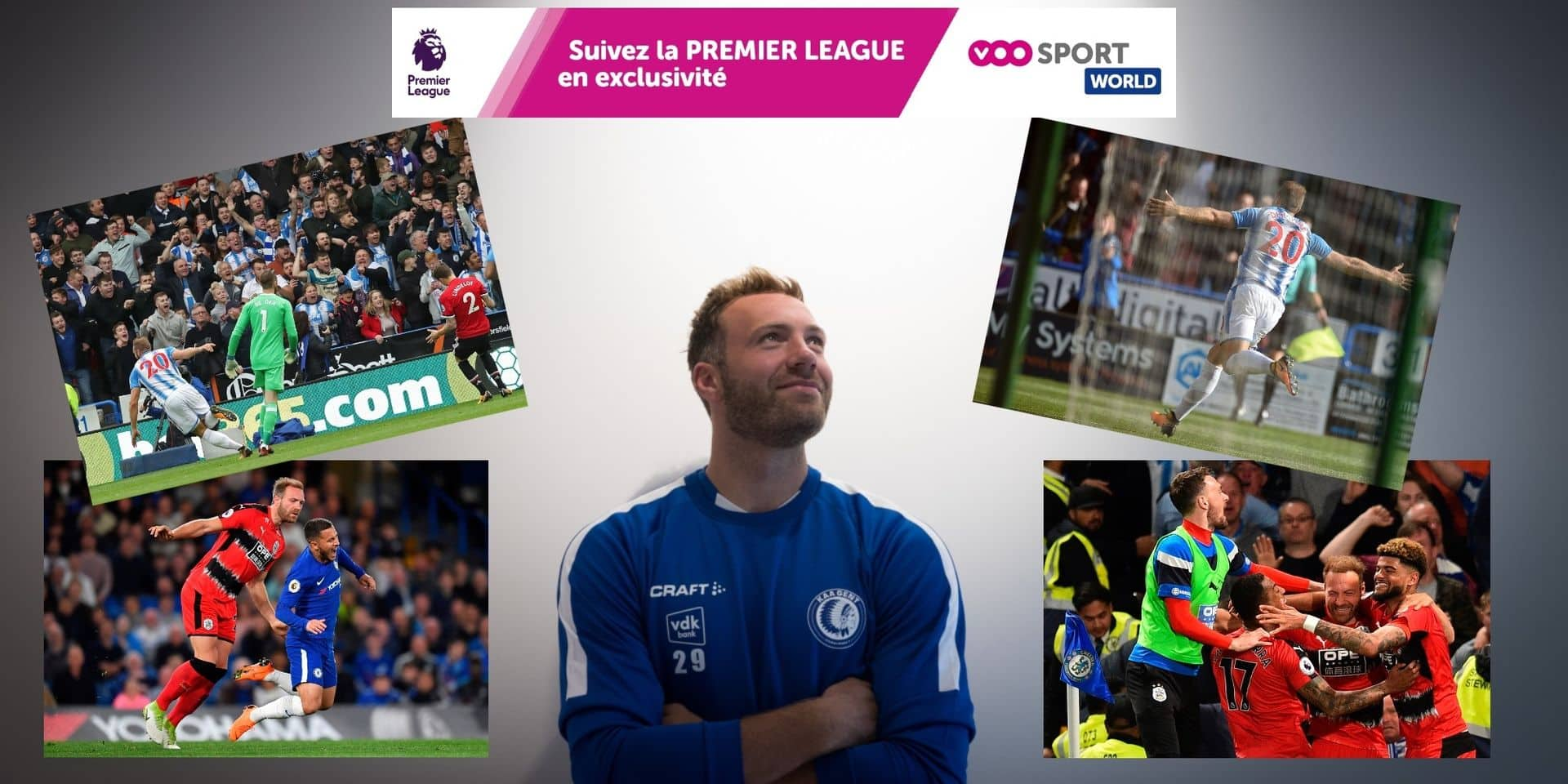 Les souvenirs de Premier League de Laurent Depoitre