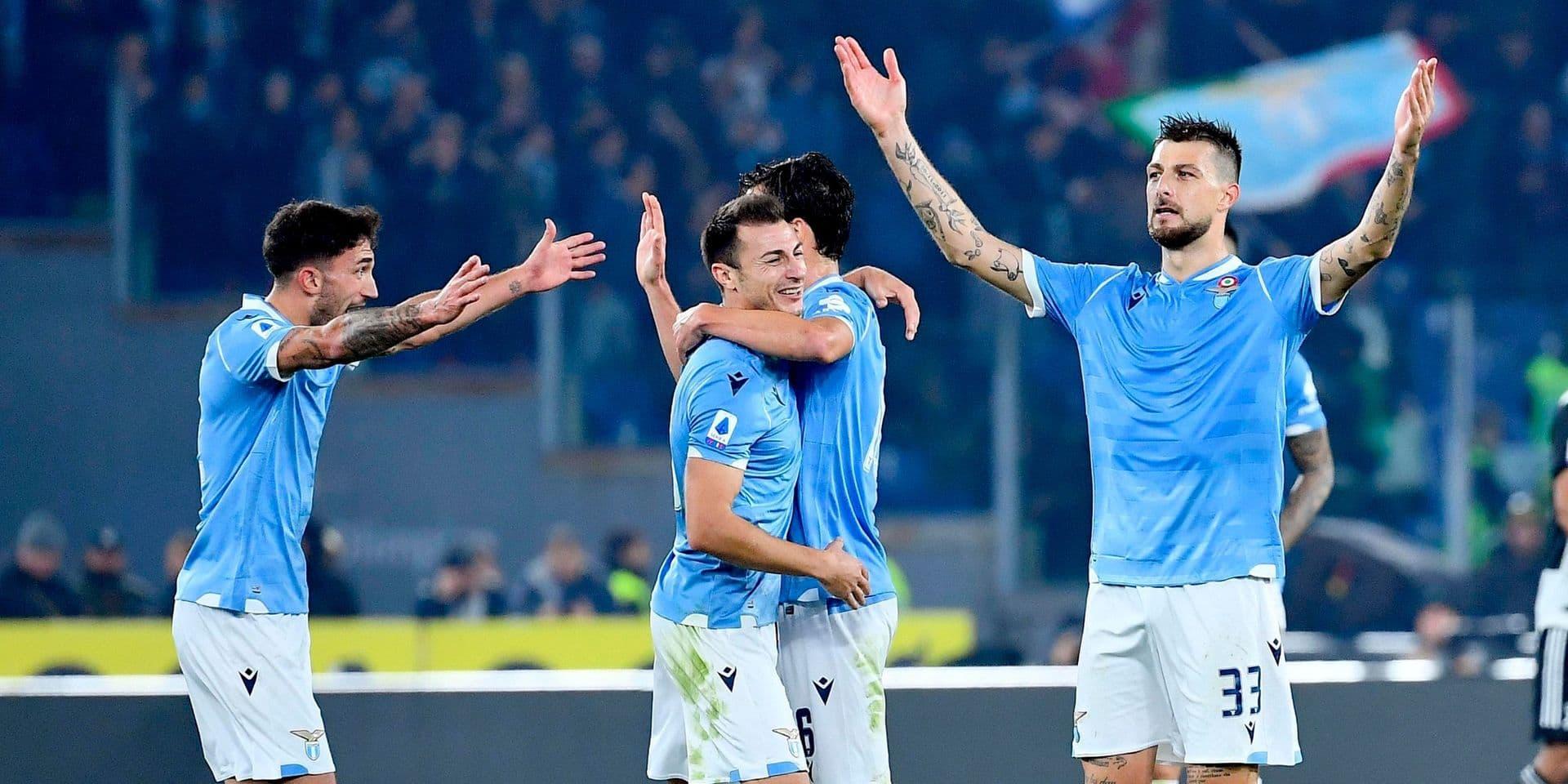 La Lazio de Rome s'offre sur le fil un neuvième succès de rang à Brescia