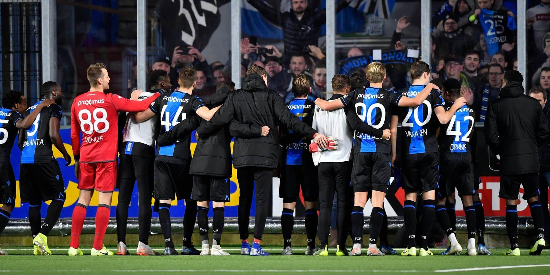 Jupiler Pro League: le Club Bruges est plus que jamais aux commandes