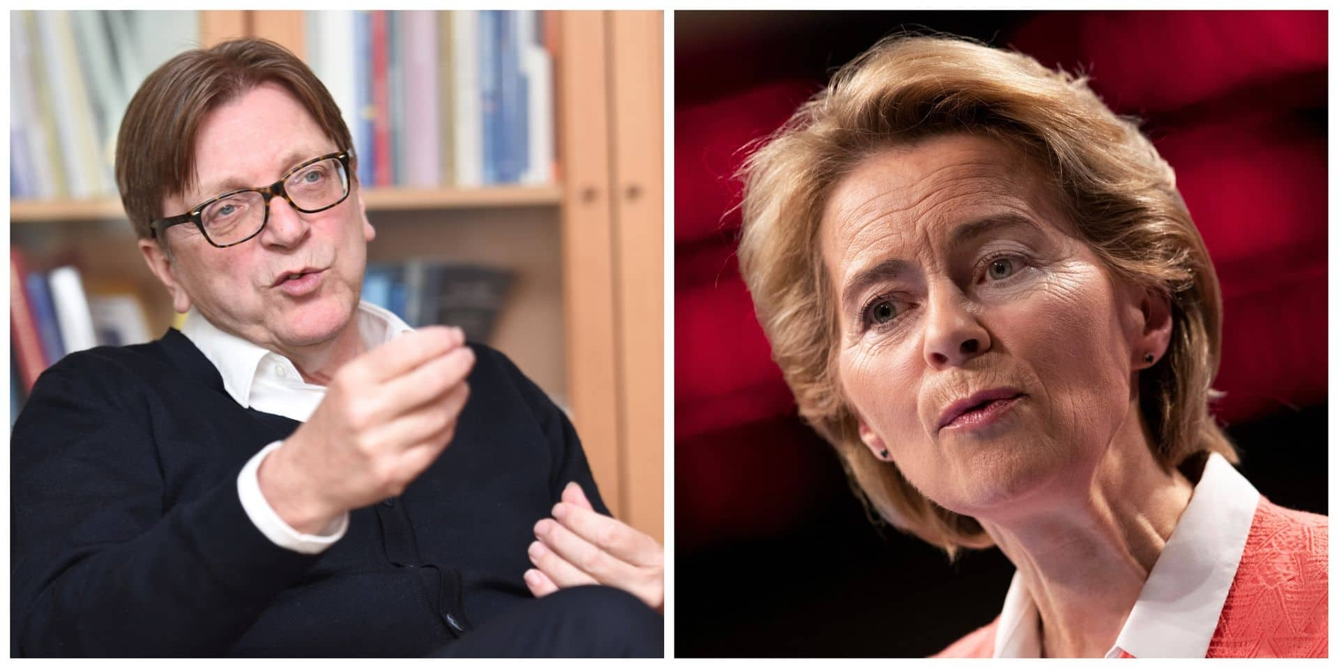 """Protection du mode de vie européen"" à la Commission: Guy Vergofstadt menace Ursula von der Leyen"