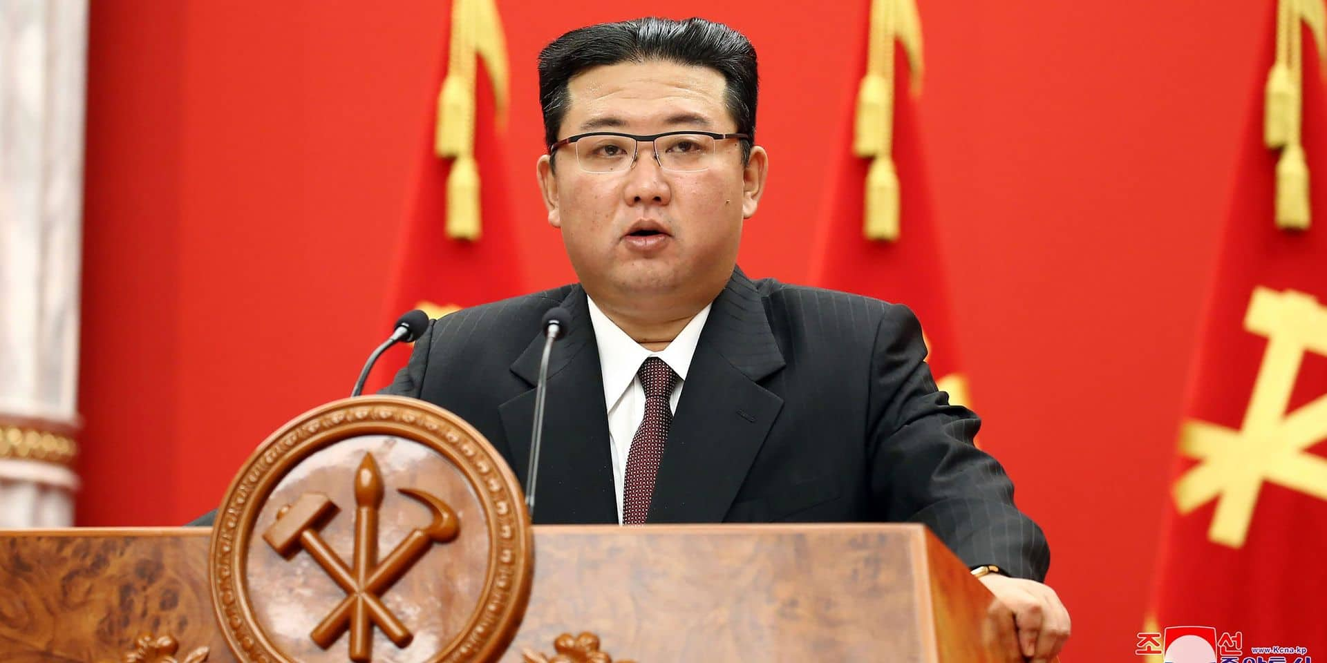 """Kim Jong Un accuse Washington d'être la """"cause profonde"""" des tensions"""