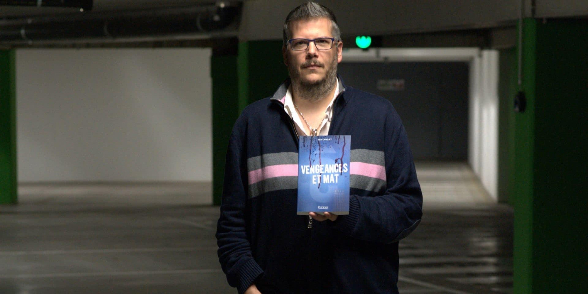 De l'auto-édition à une distribution européenne: Ben Choquet, en tournée de dédicaces, va écrire un autre roman
