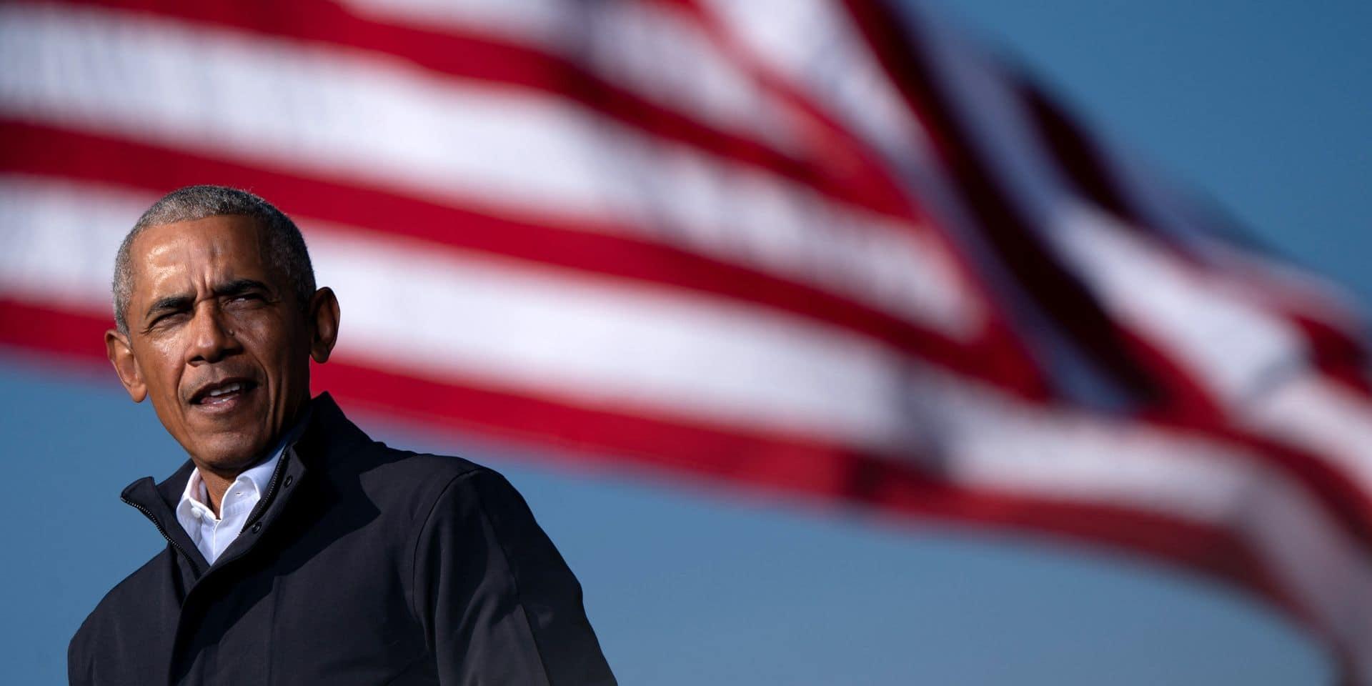 """Obama revient sur la présidence de Donald Trump dans un livre : """"Une seule élection ne règlera pas le problème"""""""