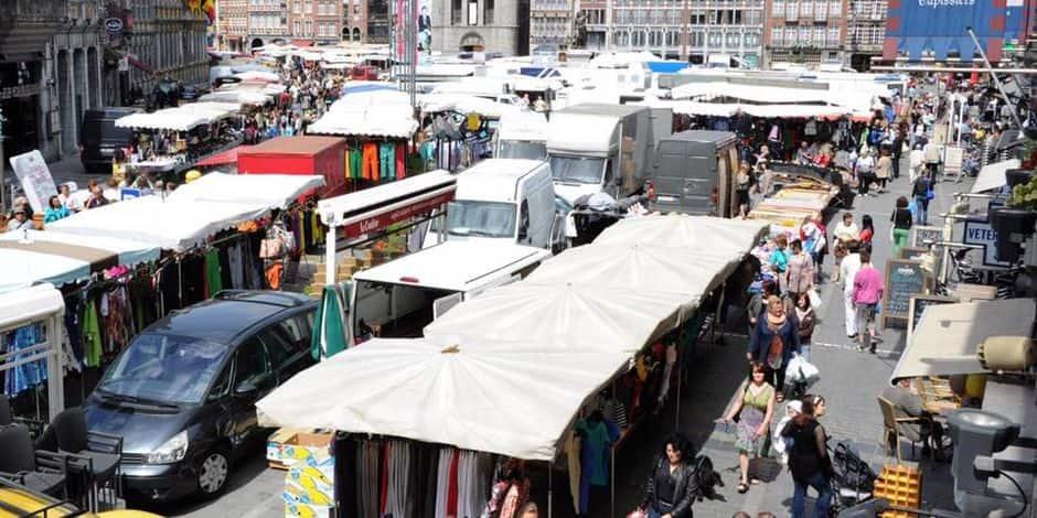 Le ministre de l'Intérieur interdit le port du masque obligatoire sur les marchés