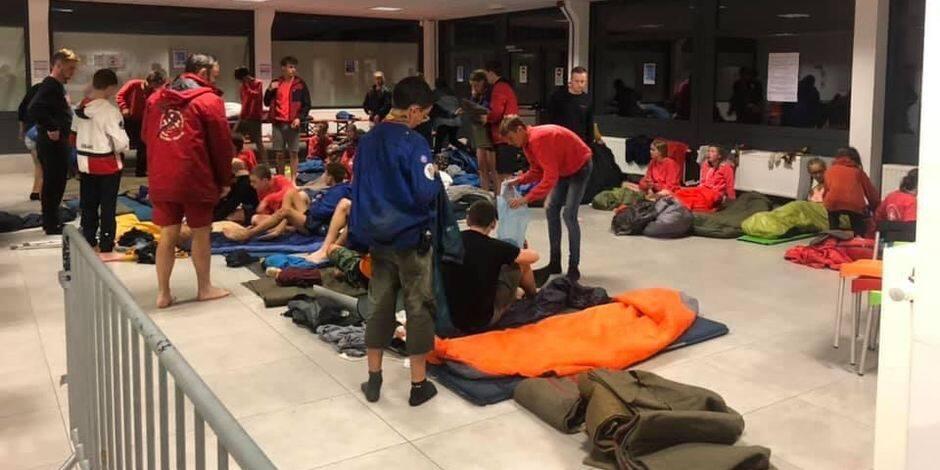 """Evacuation d'un camp scout à Beauraing : """"L'eau est montée de 10 cm en cinq minutes"""""""
