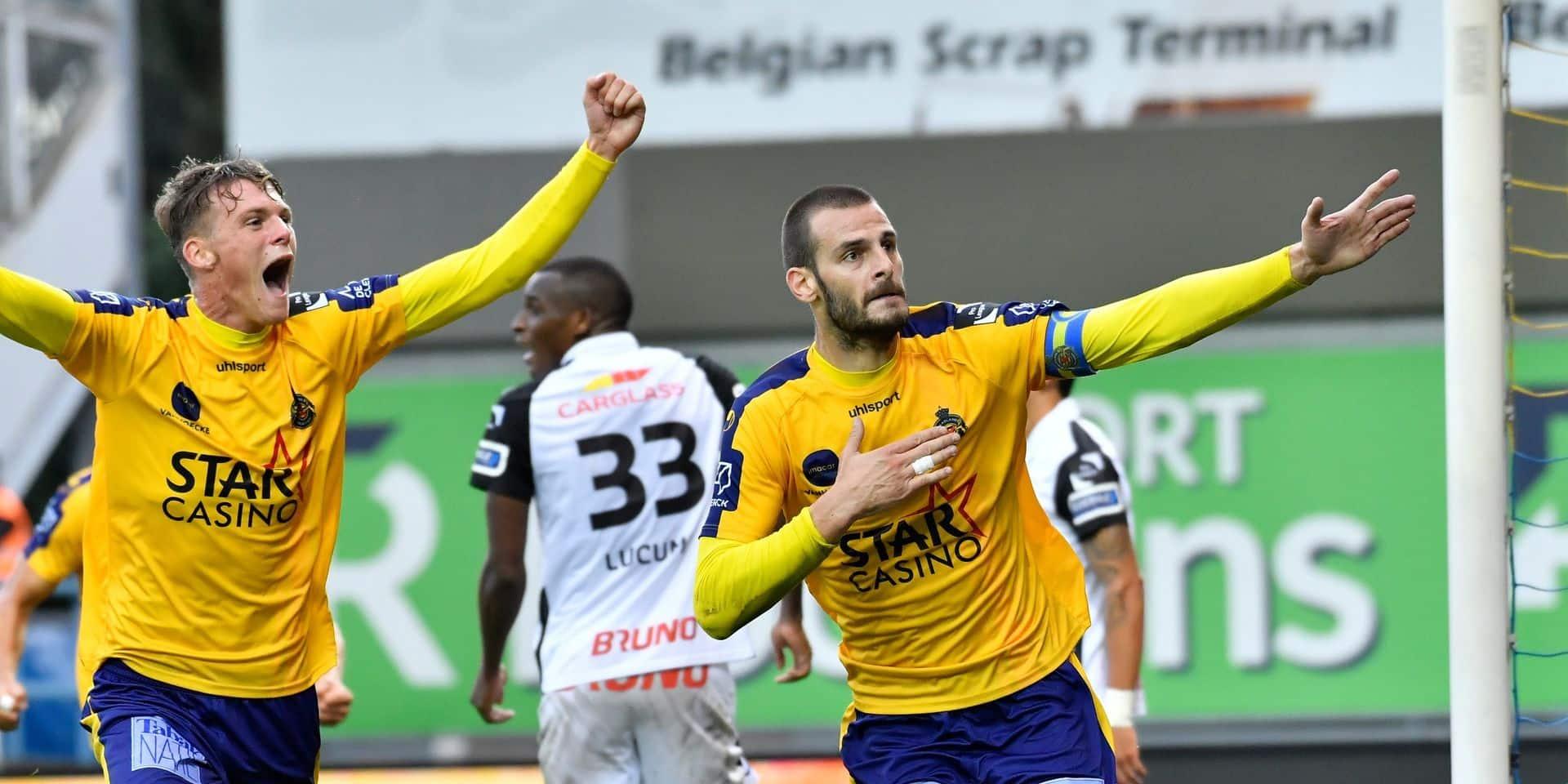 Genk accroché de justesse à Waasland-Beveren (1-1), toujours pas de victoire pour Thorup
